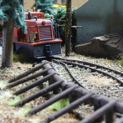 Jura forest railway